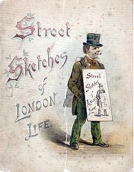 VON PORTHEIM & CO. - publishers : STREET SKETCHES OF LONDON LIFE.