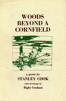COOK, Stanley, 1922-1991 : WOODS BEYOND A CORNFIELD.