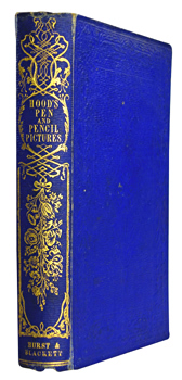 HOOD, Thomas, 1835-1874 : PEN AND PENCIL PICTURES.