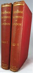 THORNE, James, 1815-1881 : HANDBOOK TO THE ENVIRONS OF LONDON, ALPHABETICALLY ARRANGED, CONTAINING AN ACCOUNT OF EVERY TOWN AND VILLAGE, AND OF ALL PLACES OF INTEREST, WITHIN A CIRCLE OF TWENTY MILES ROUND LONDON.