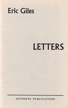 GILES, Eric : LETTERS.