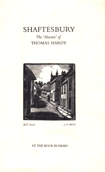 MASTERS, James (James Edwin), 1876-1943 : SHAFTESBURY : THE 'SHASTON' OF THOMAS HARDY.