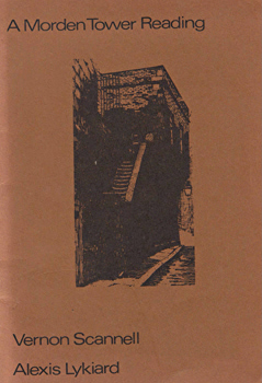 SCANNELL, Vernon, 1922-2007  & LYKIARD, Alexis, 1940- : A MORDEN TOWER READING : 1.