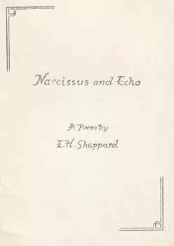 SHEPPARD, E.H. (Ernest H.) : NARCISSUS AND ECHO.