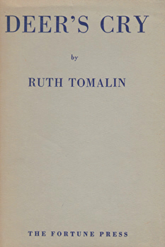 TOMALIN, Ruth, 1919-2012 : DEER'S CRY.