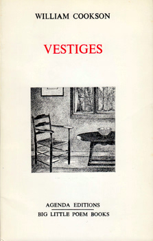 COOKSON, William, 1939-2003 : VESTIGES.