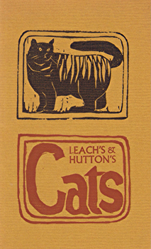LEACH, Robert, 1942- : CATS FREE AND FAMILIAR.
