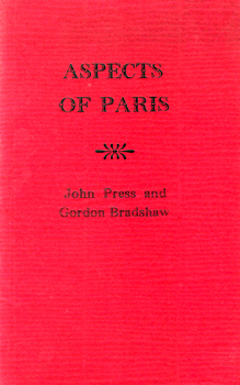 PRESS, John (John Bryant) 1920-2007 : ASPECTS OF PARIS.