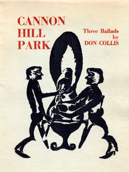 COLLIS, Don : CANNON HILL PARK : MAMMY BLACK VELVET : THE YOUNG MEN.