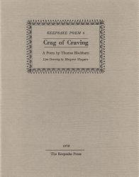BLACKBURN, Thomas (Thomas Eliel Fenwick), 1916-1977 : CRAG OF CRAVING.