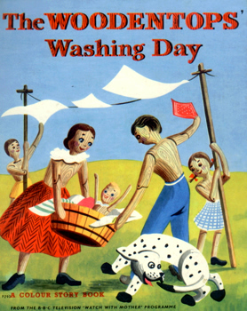 THE WOODENTOPS WASHING DAY. BY MARIA BIRD.