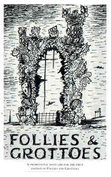 FOLLIES. THE INTERNATIONAL MAGAZINE FOR FOLLIES, GROTTOES AND GARDEN BUILDINGS. VOL.5. NO.1. (ISSUE 17). SPRING 1993.