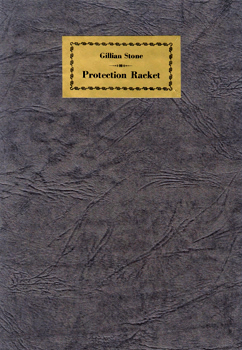 STONE, Gillian : PROTECTION RACKET : TWO POEMS FROM PICTURES BY ANDREW K. WOMRATH PRINTED IN THE EVERGREEN, 1896.