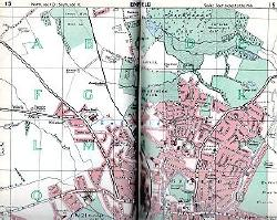 BARTHOLOMEW & SON, John : BARTHOLOMEW'S REFERENCE ATLAS OF GREATER LONDON : COVERING THE WHOLE METROPOLITAN POLICE AREA, WITH LARGER SCALE MAPS FOR CENTRAL LONDON AND INDEX FOR QUICK LOCATION OF OVER 59,000 NAMES.