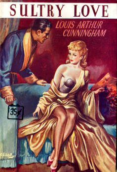 CUNNINGHAM, Louis Arthur, 1900-1954 : SULTRY LOVE.
