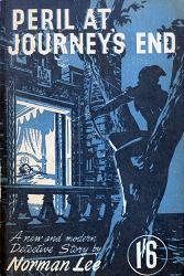 LEE, Norman, 1905-1962 : PERIL AT JOURNEY'S END.