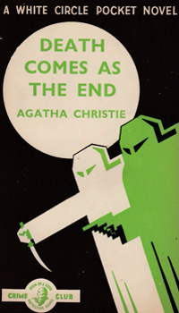 CHRISTIE, Agatha (Dame Agatha Mary Clarissa), 1890-1976 : DEATH COMES AS THE END.