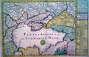 Antique map of Ukraine
