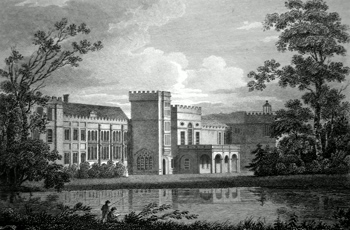 ANTIQUE PRINT: [FORDE ABBEY] FORD ABBEY. DEVONSHIRE.