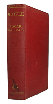 WALLACE, Edgar (Richard Horatio Edgar), 1875-1932 : PEOPLE : A SHORT AUTOBIOGRAPHY.