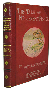 POTTER, Beatrix (Helen Beatrix), 1866-1943 : THE TALE OF MR. JEREMY FISHER.
