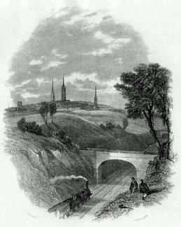 ANTIQUE PRINT: COVENTRY.