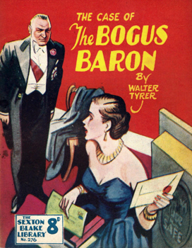 TYRER, Walter, 1900-1978 : THE CASE OF THE BOGUS BARON.
