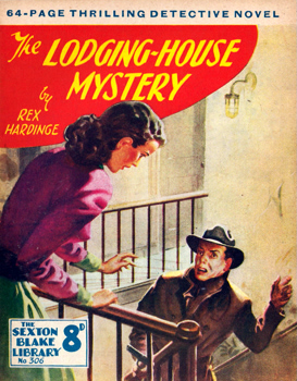 HARDINGE, Rex (Charles Reginald), 1902-1990 : THE LODGING-HOUSE MYSTERY.