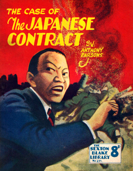 PARSONS, Anthony, 1893-1963 : THE CASE OF THE JAPANESE CONTRACT.