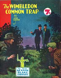 HUNTER, John (Alfred John), 1891-1961 : THE WIMBLEDON COMMON TRAP.