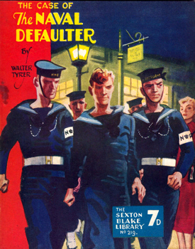 TYRER, Walter, 1900-1978 : THE CASE OF THE NAVAL DEFAULTER.