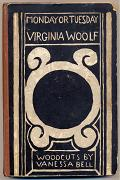 WOOLF, Virginia (Adeline Virginia), 1882-1941 : MONDAY OR TUESDAY.