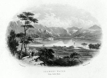 BANKS, William, 1806-1866 : VIEWS OF THE ENGLISH LAKES.