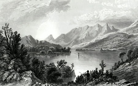 Antique print of Kerry