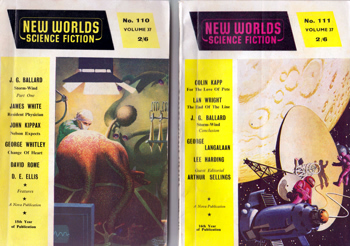 "BALLARD, J.G. (James Graham), 1930-2009 : ""STORM-WIND� contained in NEW WORLDS SCIENCE FICTION : VOL. 37. NOS. 110-111. SEPTEMBER / OCTOBER 1961."