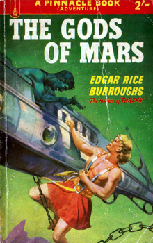 BURROUGHS, Edgar Rice, 1875-1950 : THE GODS OF MARS.