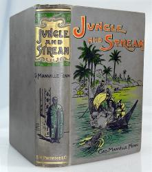 FENN, George Manville, 1831-1909 : JUNGLE AND STREAM : OR THE ADVENTURES OF TWO BOYS IN SIAM.