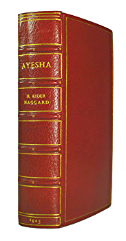HAGGARD, H. Rider (Sir Henry Rider), 1856-1925 : AYESHA : THE RETURN OF SHE.