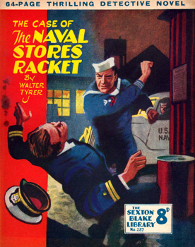 TYRER, Walter, 1900-1978 : THE CASE OF THE NAVAL STORES RACKET.