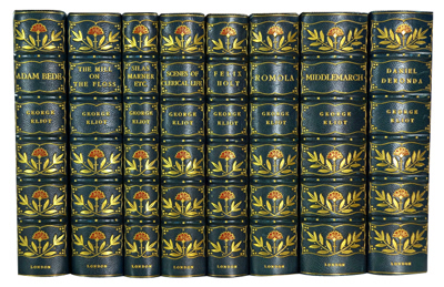 """ELIOT, George"" – [EVANS, Marian, 1819-1880] : NOVELS OF GEORGE ELIOT."