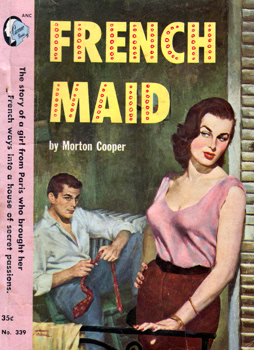 """COOPER, Morton"" – [FEINBERG, Morton Cooper, 1925-2004] : FRENCH MAID."