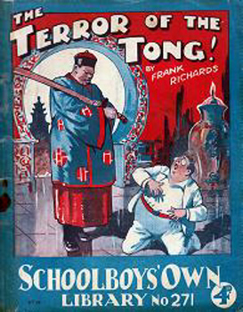 """RICHARDS, Frank"" – [HAMILTON, Charles Harold St. John, 1876-1961] : [COVER TITLE] THE TERROR OF THE TONG!"