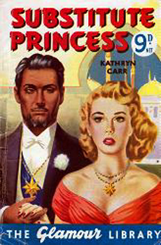 CARR, Kathryn : [COVER TITLE] SUBSTITUTE PRINCESS.