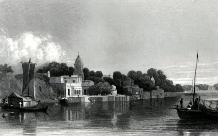 ANTIQUE PRINT: CAWNPORE [KANPUR].