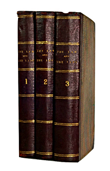 COLLINS, Wilkie (William Wilkie), 1824-1889 : THE LAW & THE LADY : A NOVEL.