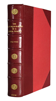 DAVIES, W.H. (William Henry), 1871-1940 : THE AUTOBIOGRAPHY OF A SUPER-TRAMP.