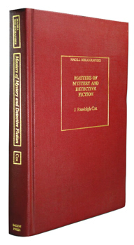 COX, J. Randolph, 1936- : MASTERS OF MYSTERY AND DETECTIVE FICTION : AN ANNOTATED BIBLIOGRAPHY.