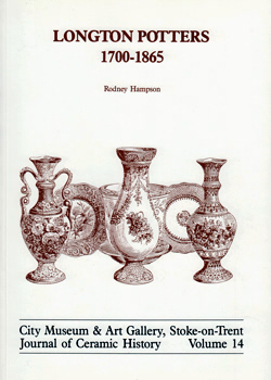 HAMPSON, Rodney : LONGTON POTTERS : 1700-1865.