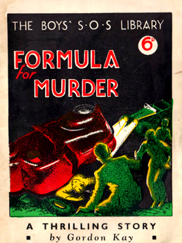 KAY, Gordon : FORMULA FOR MURDER.