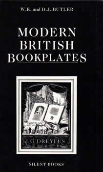 BUTLER, W.E. (William Elliott), 1939- & BUTLER, D.J. (Darlene J.) : MODERN BRITISH BOOKPLATES.